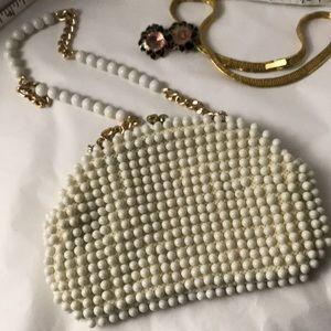 Darling beaded vintage bag